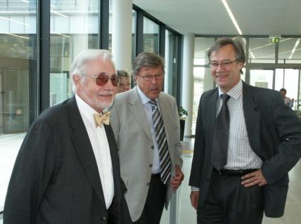 Prof. Brånemark, Dr Tjellström and Prof. Håkansson in the early 80's