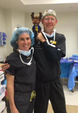 Dr Sheryl Lewin and John Vogrin from Cochlear Americas