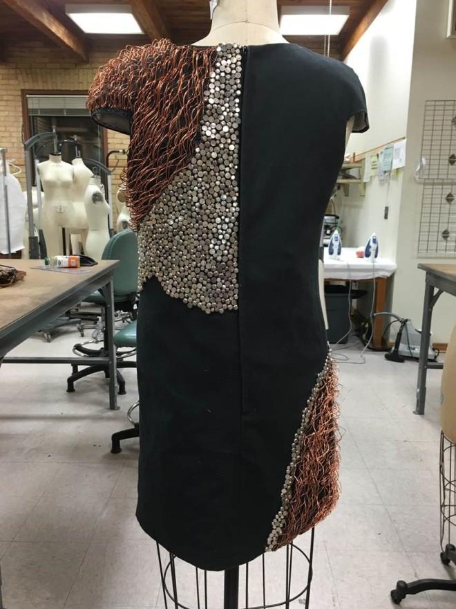 Lexine's dress