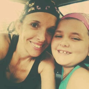 Michelle and her daughter Shalynn, 11